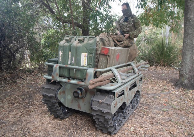 For the C4 EDGE program Cyborg is providing integration of the Australian designed and built Warfighter UGV platform into the C4Edge network. (Defence)